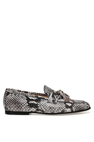 Nine West GILBERT Gri Kadın Loafer Ayakkabı 100481292
