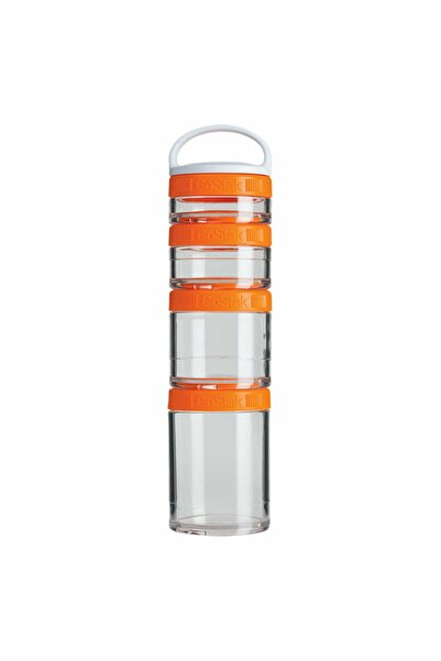 Blender Bottle Turuncu Renk Gostak Kap 350 ml
