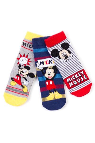 Mickey Mouse Disney 6'lı Soket Çorap 17065