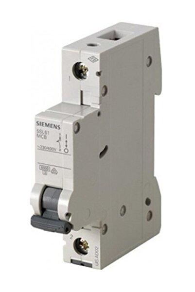 Siemens 5sl6125-6ya 1 Fazlı 25 Amper B Tipi Çabuk Karakterli 6ka Otomatik Sigorta