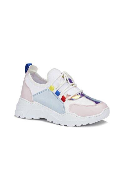 Vicco Ruba Kız Genç Beyaz/pembe Sneaker