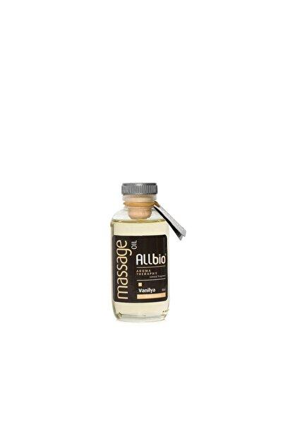 ALLBİO Masaj Yağı Vanilya 100 ml