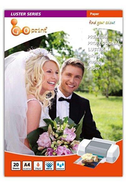 Goprint Luster Serisi Premium Ultra Mat A4 Fotoğraf Kağıdı 270gr 20 Yaprak