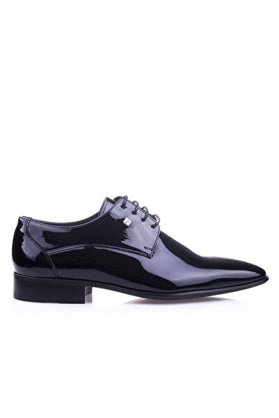 Fosco 9541 Siyah Rugan Klasik Ayakkabı