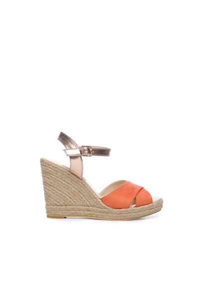 KEMAL TANCA Kadın Vegan Sandalet Sandalet 560 056-07 Bn Sndlt