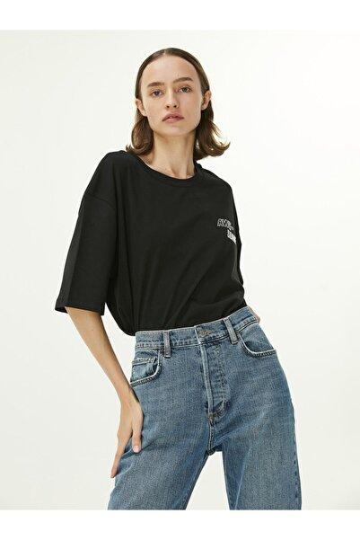 Twist Taş Işleme T-shirt