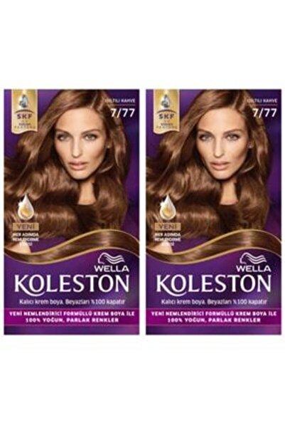 Koleston 2 Li Kit 7 77 Işıltılı Kahve Saç Boyası