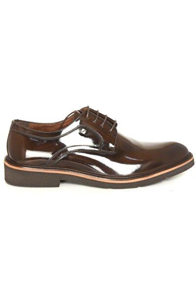 Fosco 1094 Kahve Açma Deri Eva Klasik Ayakkabı