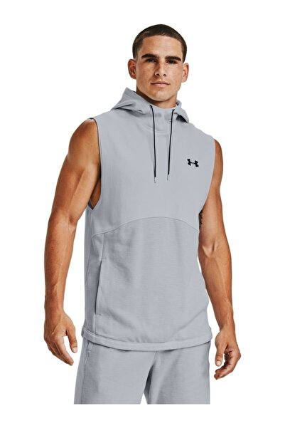 Under Armour Erkek Spor Sweatshirt - Double Knit Sl Hoodie - 1352009-015