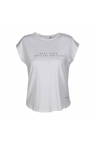 lumberjack Kadın Beyaz Kalina T-shirt