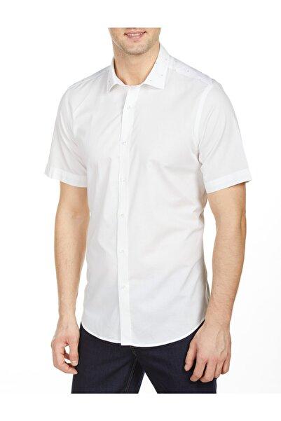Bisse Slim Fit Kısa Kollu Gömlek