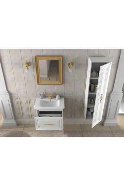 Pierre Cardin Sun 90 Cm Dore Banyo Dolabı Altın Sarı Renk