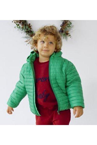 Midimod Yeşil Erkek Çocuk Mont
