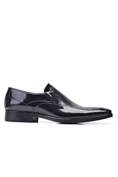 Nevzat Onay Hakiki Deri Siyah Klasik Loafer Erkek Ayakkabı -11851-