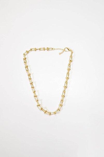 Addax Kadın Altın Zincir Kolye K-1055 T13 ADX-0000023046