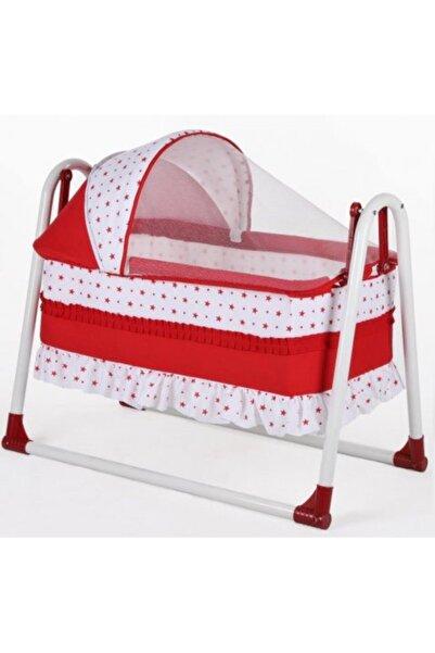 Bebe Mihemababy Kırmızı Tenteli Sallanır K Beşikleri