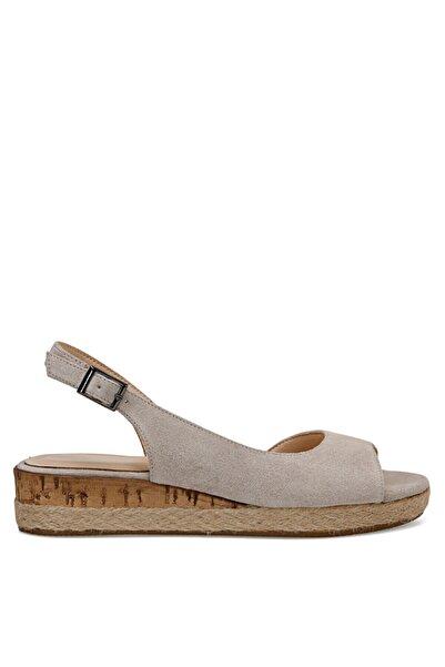 Nine West Huey Bej Kadın Dolgu Topuklu Sandalet