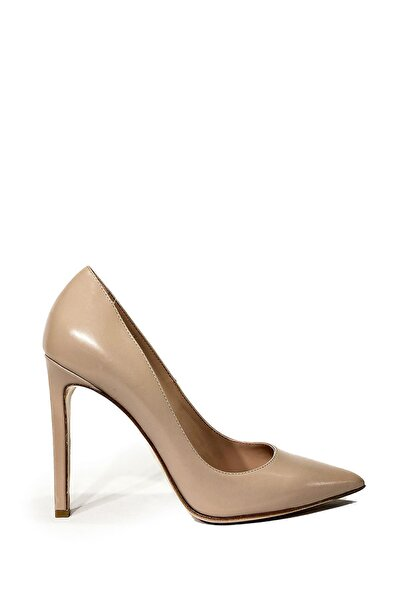 Nursace Hakiki Deri Klasik Topuklu Ayakkabı Nsc19y-a46901