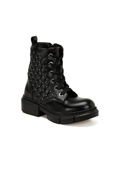 SEVENTEEN Metde Siyah Kız Çocuk Ayakkabı