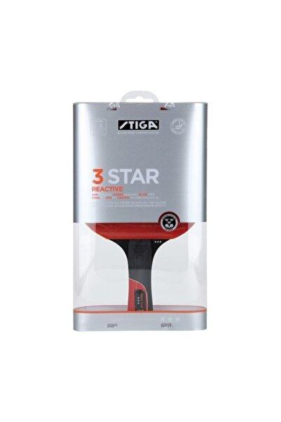 STIGA 3 Yıldız Reactive Masa Tenisi Raketi Siyah / Kırmızı