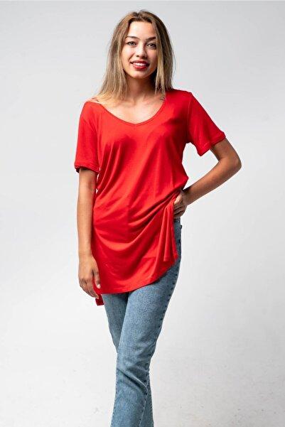 CNS V Yaka Salaş T-shirt
