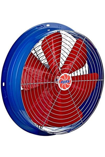 AYAS 30 Cm Çapında Ysa-300-2k-t 3000 D/d 380 400 Volt Trifaze Yuvarlak Kasalı Sanayi Tipi Aspiratör Fan