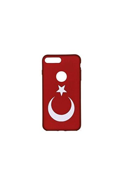 Torex Iphone 8 Plus Türk Bayraklı Silikon Kılıf