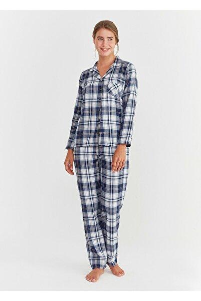 SUWEN Adelina Maskulen Pijama Takımı