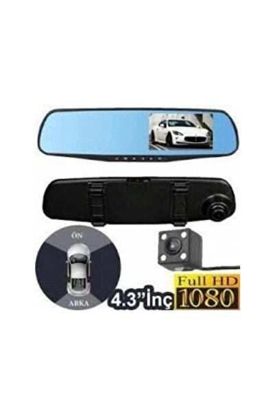 Piranha Kamera Full Hd 3.5 Inç Araç Içi Yol Kayıt Kamerası