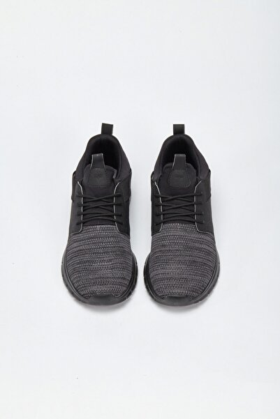 Avva Erkek Siyah Spor Ayakkabı A02y8022