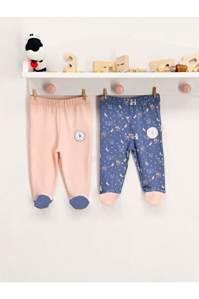 U.S. Polo Assn. U.s Polo Pantolon Patikli 2li Somon - Mavi