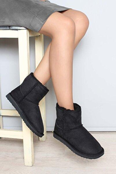 FAST STEP Siyah Kadın Klasik Bot 947sza600