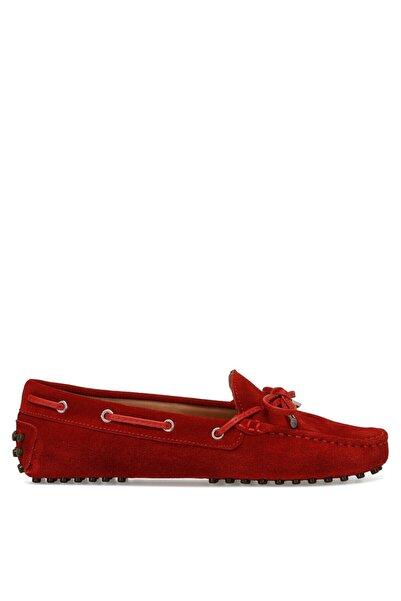 Nine West HOLT2 Kırmızı Kadın Loafer Ayakkabı 100526086