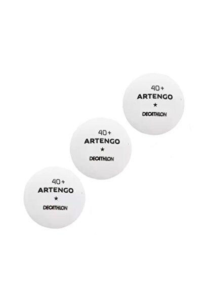 pongori Artengo Ttb100 Masa Tenisi Topu Ping Pong Topu Beyaz (3 Adet)