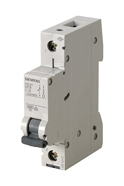Siemens 5sl6132-6ya 1 Fazlı 32 Amper B Tipi Çabuk Karakterli 6ka Otomatik Sigorta