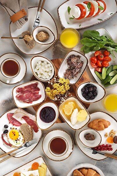 Kütahya Porselen Corendon 30 Parça Kahvaltı Takımı