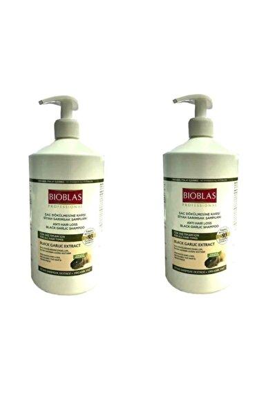 Bioblas Siyah Kara Sarımsak Şampuanı 1000ml X 2adet