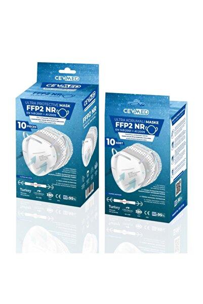 CEVMED Ultra Korumalı N95 Maske 20 Adet (2 Kutu)