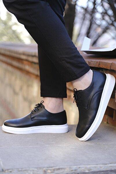 Oksit Ranier Bağcıklı Kalın Taban Erkek Casual Ayakkabı