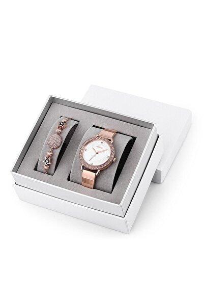 Wesse SWWL108201 Kadın Set Kol Saati ve Bileklik
