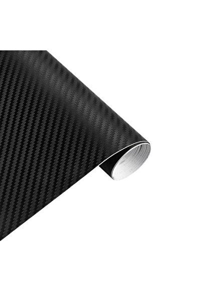 3D Siyah Renk Karbon Folyo Kaplama Carbon (124 Cm-50 Cm)