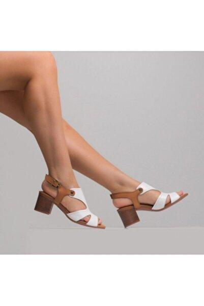 Venüs Kadın Hakiki Deri Sandalet 1857289
