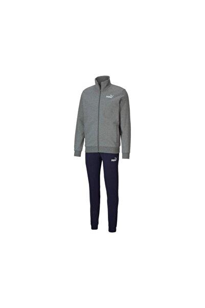 Puma Erkek Gri Clean Sweat Suit Eşofman Takım 583598-03