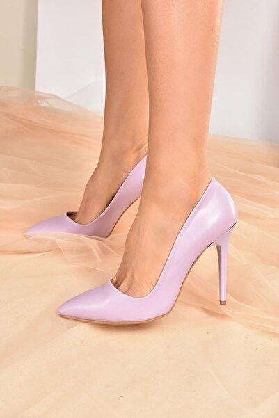 Fox Shoes Lila Kadın Topuklu Ayakkabı 8922151909