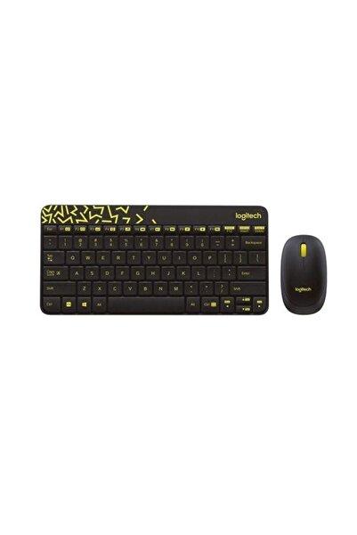 logitech Mk240 Klavye Set Siyah/sarı 920-008215