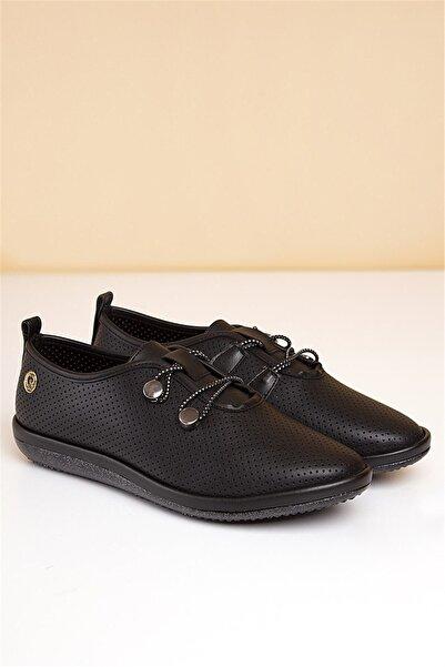 Pierre Cardin Kadın Siyah Rahat Ayakkabı 11951