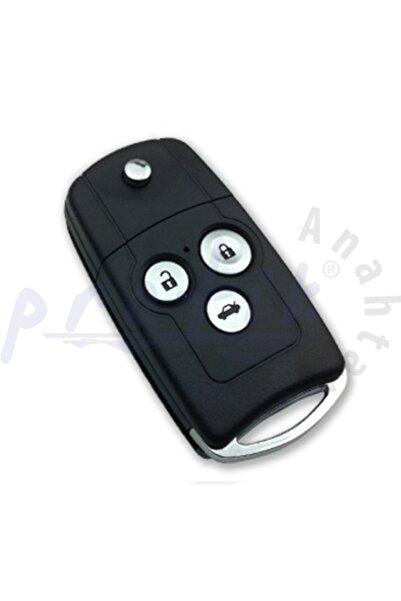 Honda Cr-v Accord City Civic 3 Tuşlu Kumanda Kabı Logolu