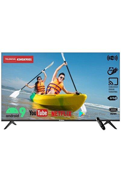 """TELENOVA 43NSK9001 43"""" 109 Ekran Uydu Alıcılı Full HD Smart LED TV"""
