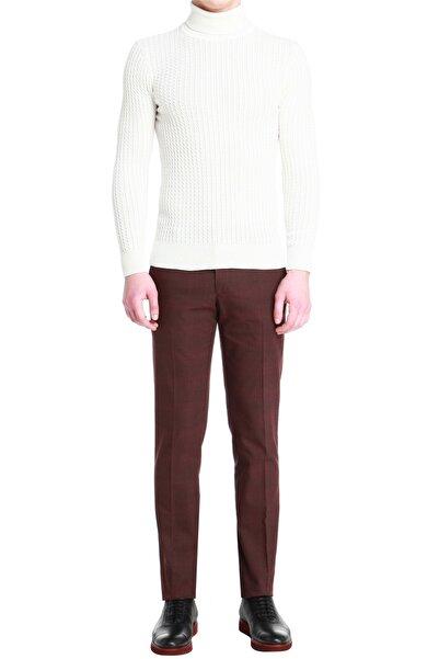 Efor P 1056 Slim Fit Bordo Spor Pantolon
