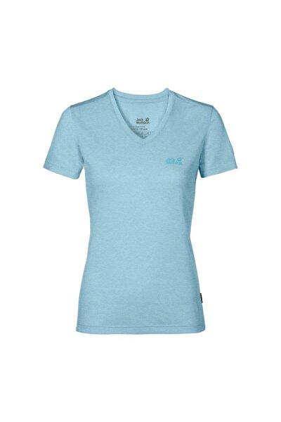 Jack Wolfskin Crosstrail Kadın T-shirt - 1801692-1145
